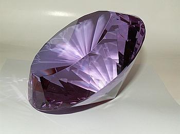 Kristall Big Violett Jesu Maria ...