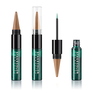 Eyes Duo - Kajal & Eyeliner Sand & Emerald
