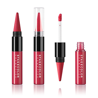 Lips Duo - Lipstick & Gloss Raspberry
