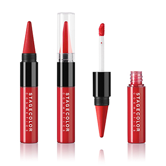 Lips Duo - Lipstick & Gloss Cherry